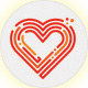 Heart lines - GraphicRiver Item for Sale