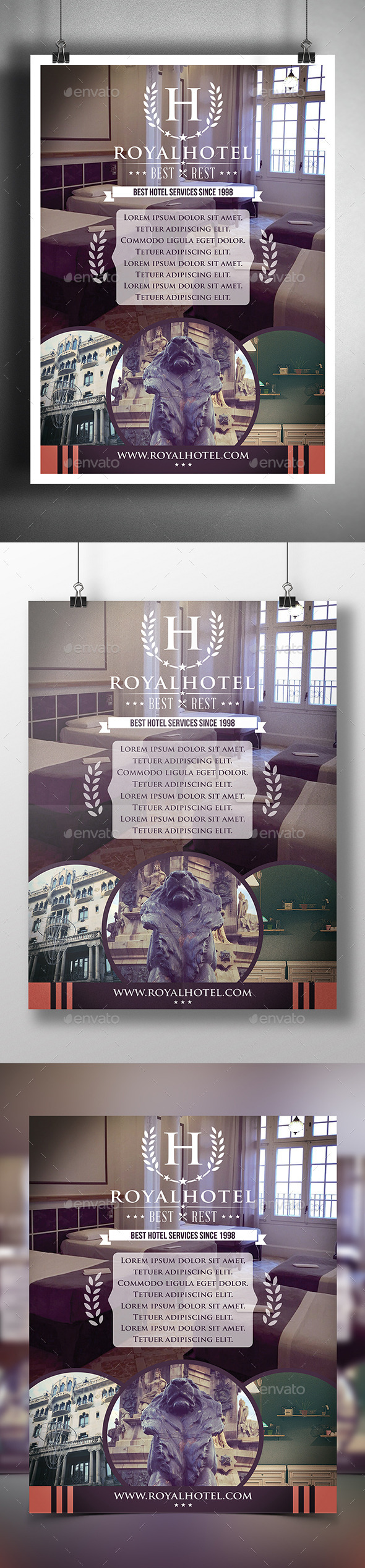 GraphicRiver Hotel Poster Flyer Template 9639009