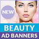 Beauty Ad Banners - GraphicRiver Item for Sale