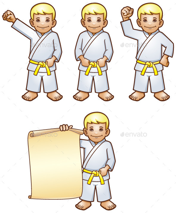 GraphicRiver Karate Kid 9639026