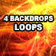 Backdrops Environment Ruy Loops- Vol 09 - 04 Pack - VideoHive Item for Sale
