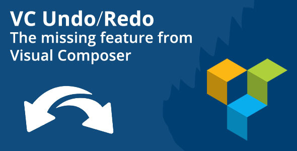 CodeCanyon Visual Composer Undo Redo Feature 9639215