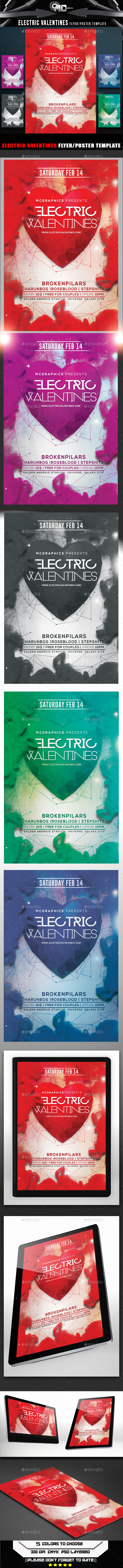 GraphicRiver Electric Valentines 9639222