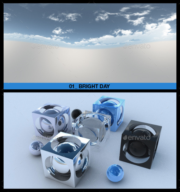 3DOcean HDRI Sky Pack 1 9639227