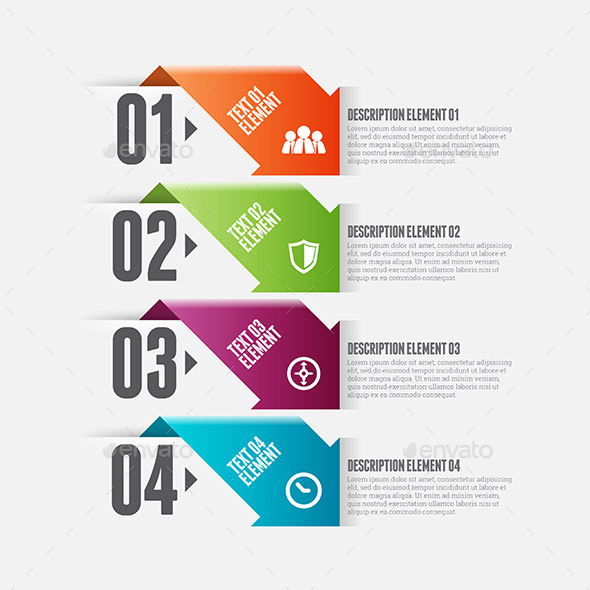 GraphicRiver Arro Option Infographic 9639634