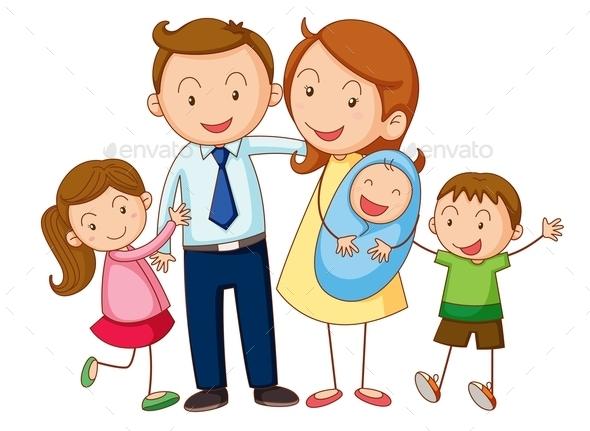 GraphicRiver Family 9639635