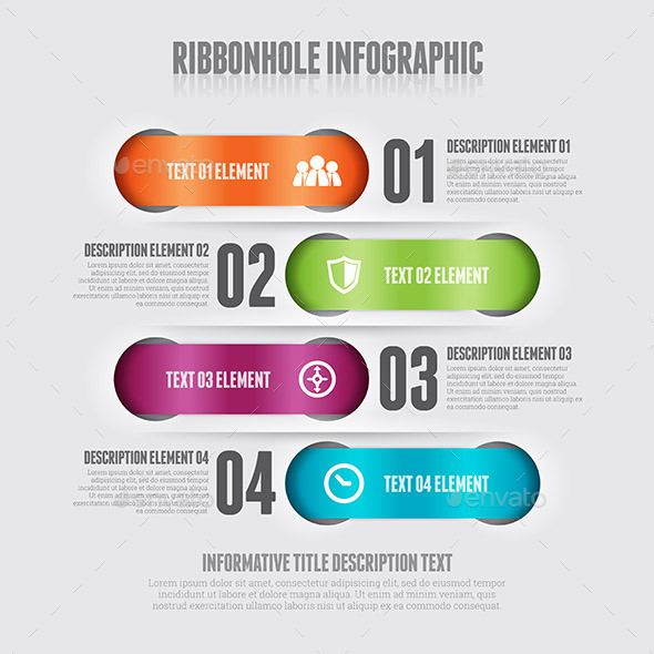 GraphicRiver Doublehole Infographic 9639655