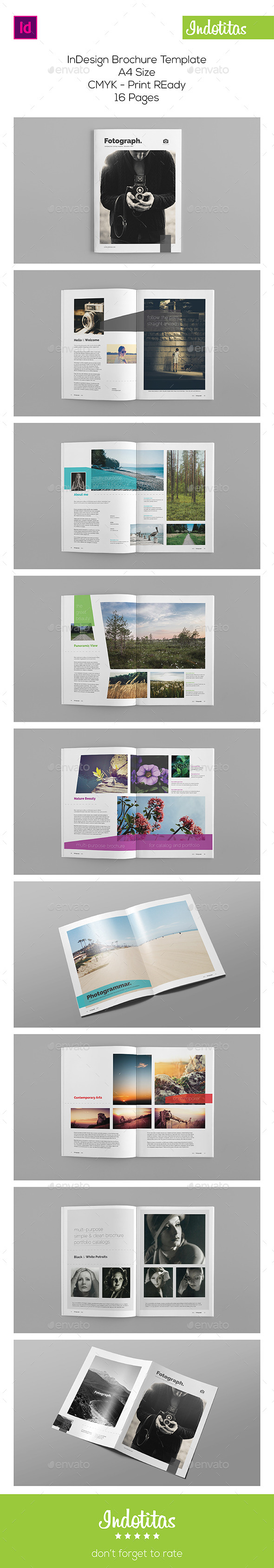 GraphicRiver A4 Portfolio Brochure 9602451