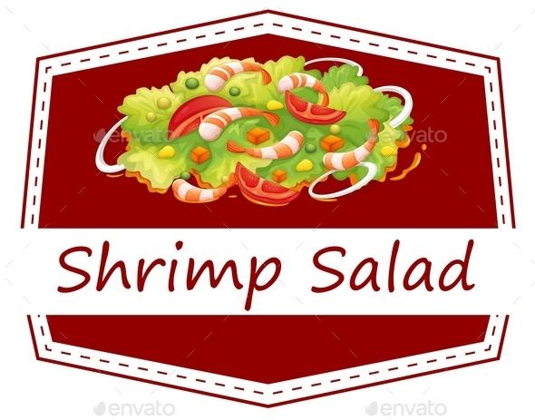 GraphicRiver Shrimp Salad 9640188