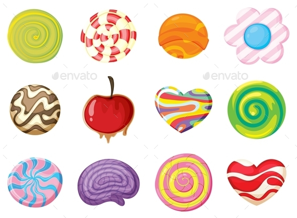 GraphicRiver Various Sweets 9640276