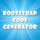 Bootstrap Code Generator