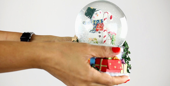 VideoHive Showing Snowman Sphere 2 9640491