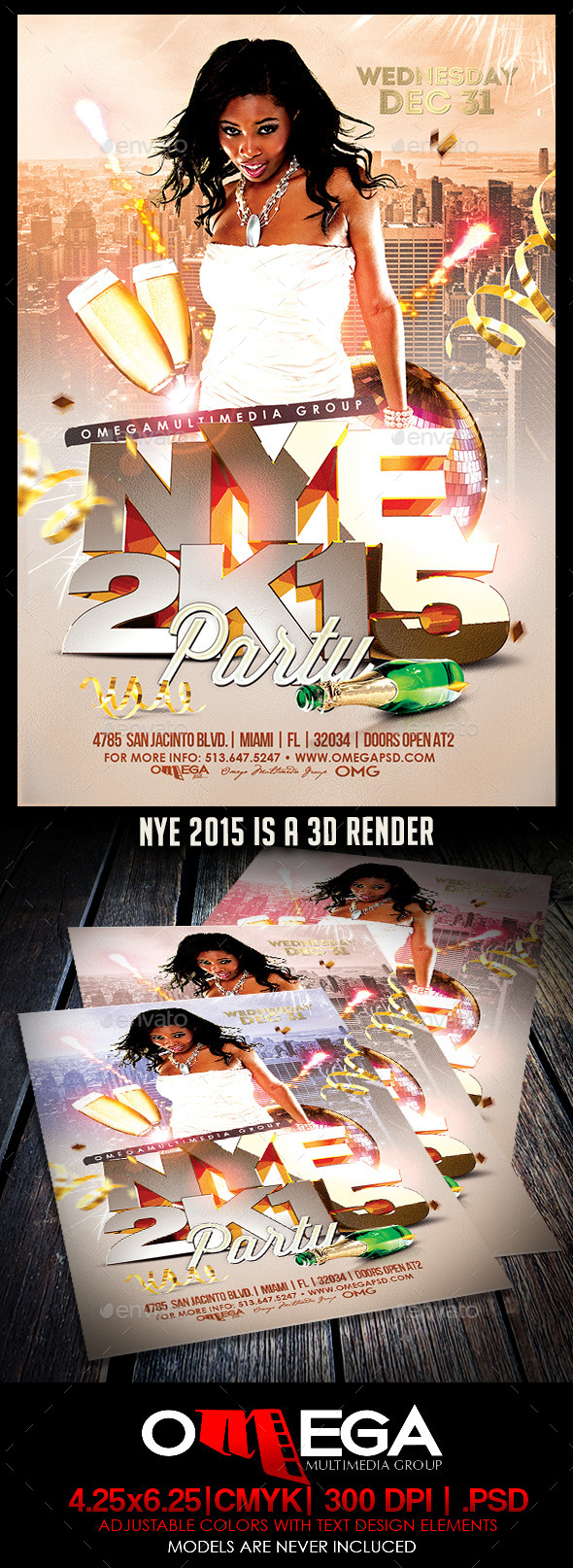 GraphicRiver NYE 2015 9640761