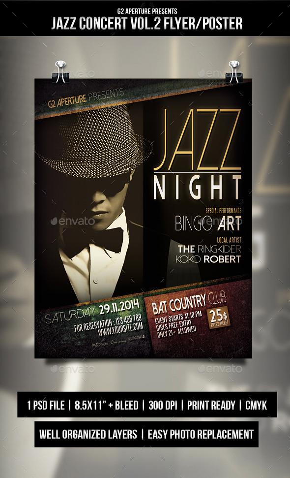 GraphicRiver Jazz Concert Flyer Poster Vol.2 9640767