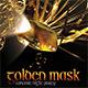 Golden Mask Concert Flyer - GraphicRiver Item for Sale