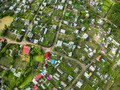 View of housing estate from bird eye view - PhotoDune Item for Sale