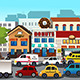 Busy City - GraphicRiver Item for Sale