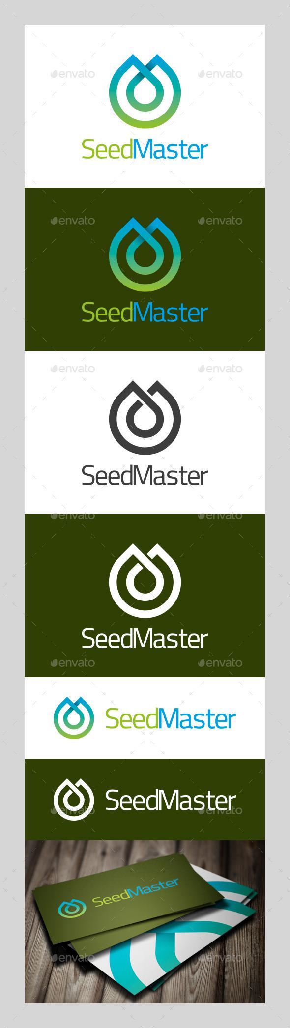 GraphicRiver SeedMaster Logo 9579171
