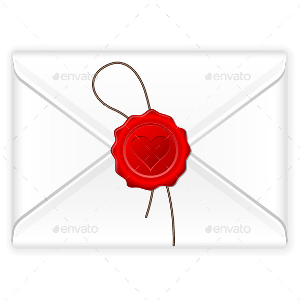 GraphicRiver Envelope Love Stamp 9641142