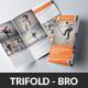 Transport Business Trifold Brochures - GraphicRiver Item for Sale