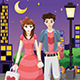 Couple Going Out on a Valentine's Day - GraphicRiver Item for Sale