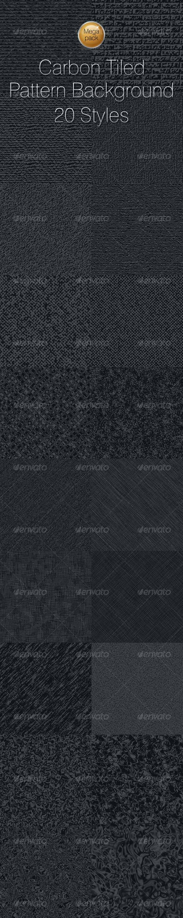 Carbon Tiled Pattern Textured Background Vol. 12 - Urban Textures / Fills / Patterns