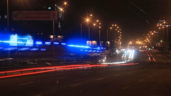 VideoHive Night Traffic 9641991