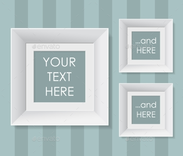 GraphicRiver Blank Frames with Stripped Background 9642076