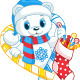 Christmas Bear - GraphicRiver Item for Sale