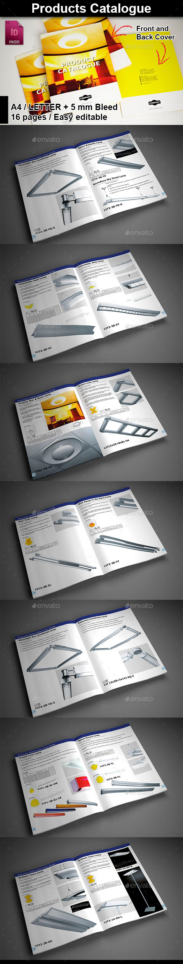 GraphicRiver Products Catalogue 9642345