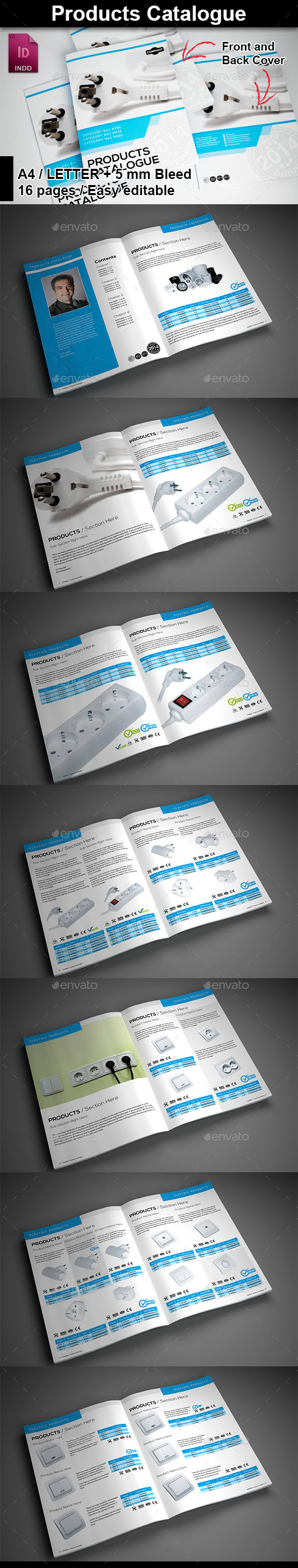 GraphicRiver Products Catalogue 9642362