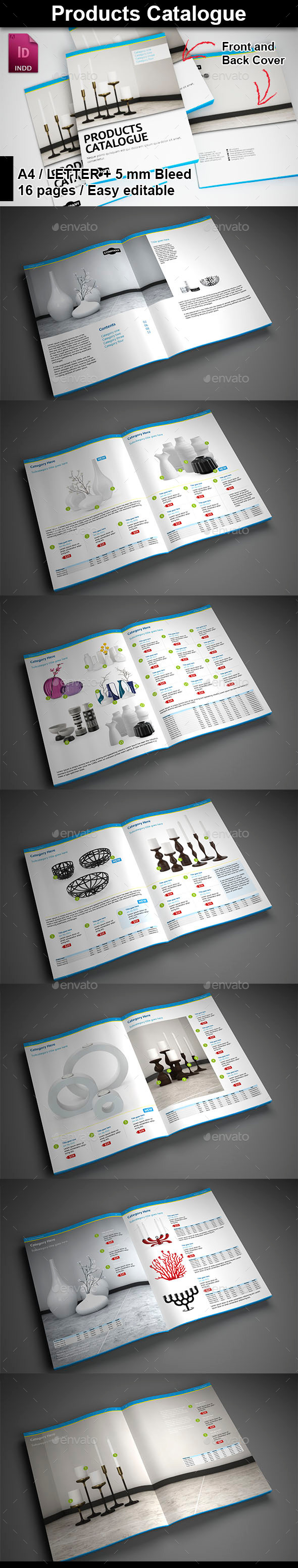 GraphicRiver Products Catalogue 9642400