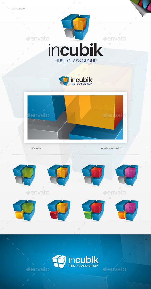 GraphicRiver In Cubic Logo 9642415