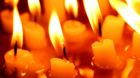 VideoHive Candle Light With Flame 245 9642448
