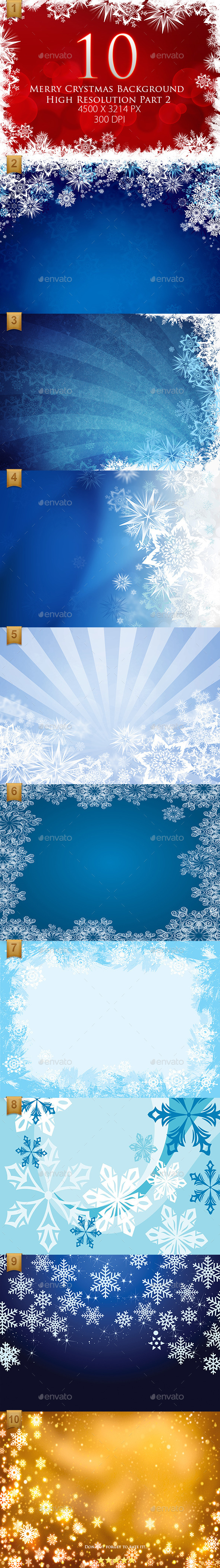 GraphicRiver 10 Merry Crystmas Background High Resolution Part2 9642516