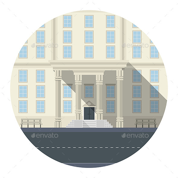 GraphicRiver Building Icon 9642517