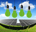 Solar energy panels with bulbs - PhotoDune Item for Sale