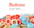 Pile of colorful plastic buttons - PhotoDune Item for Sale