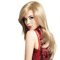 Beautiful blond woman with long hairstyle - PhotoDune Item for Sale