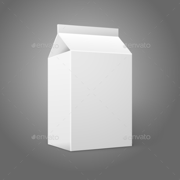 GraphicRiver Blank Milk Carton 9642937