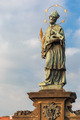 John of Nepomuk on the Charles Bridge in Prague, Czech Republic - PhotoDune Item for Sale