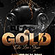 Gold and Black Flyer - GraphicRiver Item for Sale