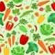 Vegetable Pattern - GraphicRiver Item for Sale
