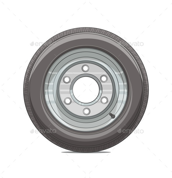 GraphicRiver Car Wheel 9644120