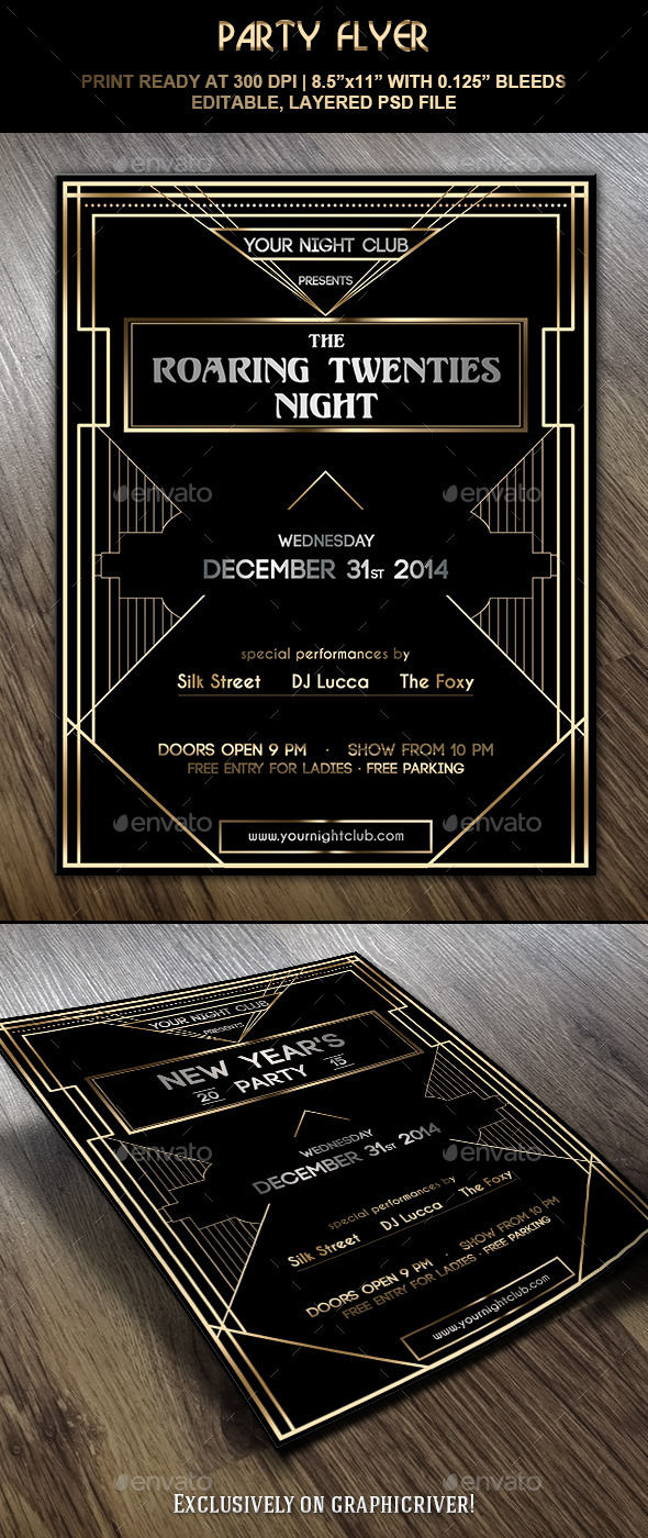 GraphicRiver Party Flyer 9380950