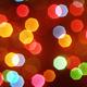 Christmas Lights Bokeh Abstract Background