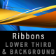 RIBBONS Lower third & Background COMBO - VideoHive Item for Sale