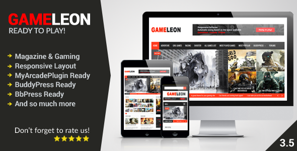 Gameleon WordPress Magazine & Arcade Theme