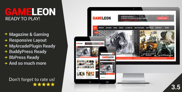 Gameleon - WordPress Magazine & Arcade Theme