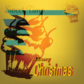 Merry Christmas Cupcake Sweet Doodles Label - PhotoDune Item for Sale